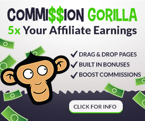 Comission Gorilla - Affiliate management software
